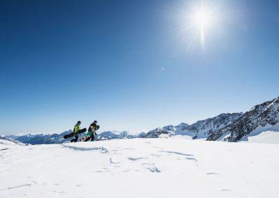 Alpin Schischule Neustift, Freeride am Stubaier Gletscher