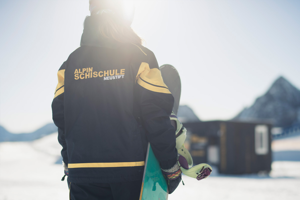 Privat Snowboardkurs im Stubaital