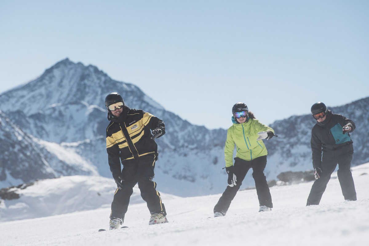 private ski courses - stubai