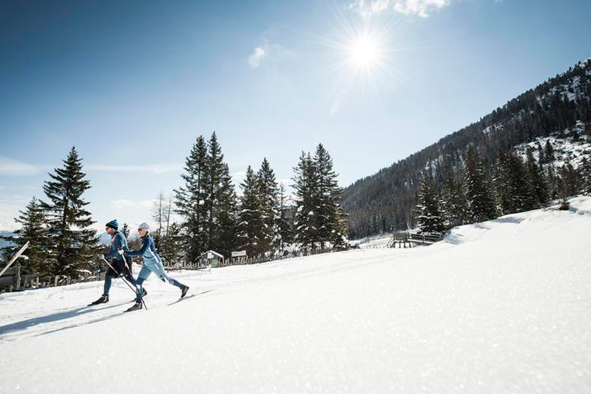 Croos-country skiing courses in the stubai valley