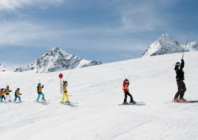 Alpin-Kids Kinderskikurse am Stubaier Gletscher