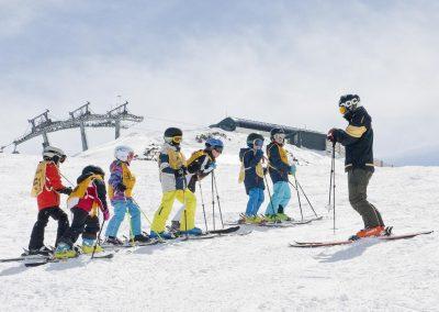 Kinderskikurse mit der Alpin Schischule Neustift im Stubaital