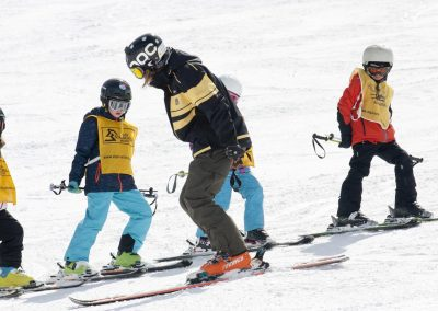 Kinderskischule in Neustift