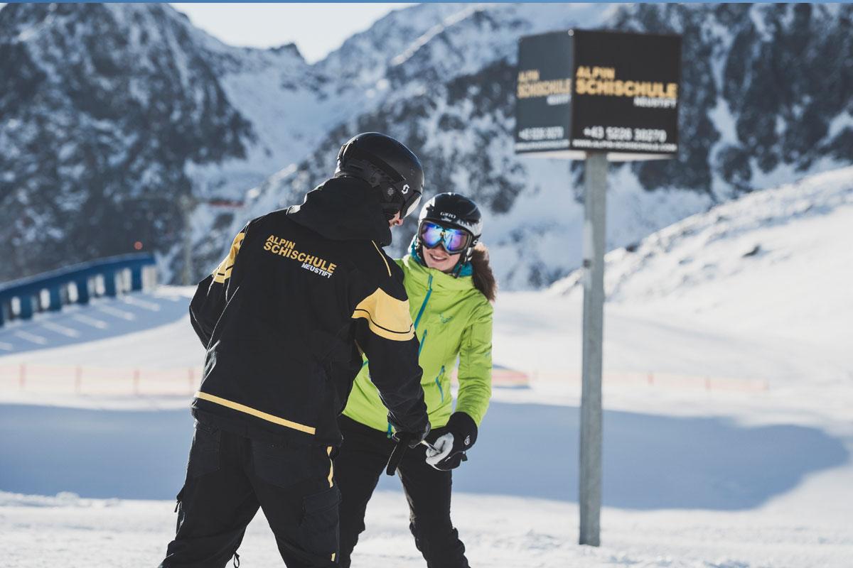 Privat Skikurs  Neustift Stubaital