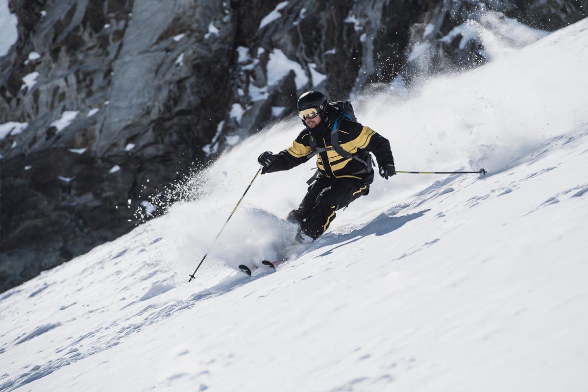Freeride am Stubaier Gletscher